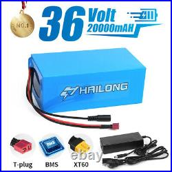 Ebike Battery 36V 20ah Lithium li-ion Battery Pack Electric Bicycle charger