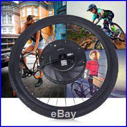 Ebike Conversion Motor Engine Wheel Kit 36V 26 Electric Bicycle With Battery US