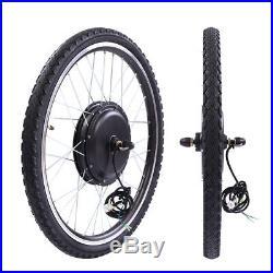 Electric Bicycle E-Bike 26 36V 500W Front Wheel Motor Conversion Kit