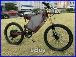 Electric Bicycle Scooter 5000with72v Ebike Mountain Bike Motor Enduro Customized