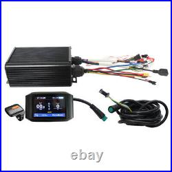 Electric Bicycle ebike 45A 36-72V 1000W-2000W Sine Wave Sabvoton Controller &LCD