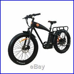 Electric Bike 1000w 14.5 ah 26 E-bike BEACH CRUISER Fat Tire E-cruiser