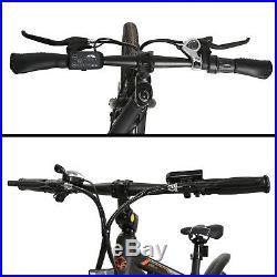 Electric Bike City Mountain Cycling E-Bike 36V 350W 26 Bicycle Lithium Battery
