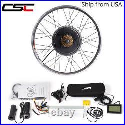 Electric Bike Motor Conversion Kit E-Bike 26 29 inch Hub wheel Ship From USA