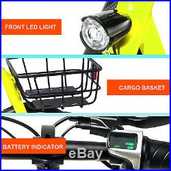 Electric Bike Portable Bicycle Performance Motor Lithium Battery EBike Outdoors