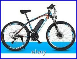 Electric Bikes, E-Bikes, Ebikes for Adults, 250W, 21 Speed (BLUE)