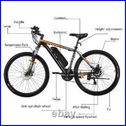 Electric Mountain Bike 250With350With500W E-bike 16''/26'' Bicycle USA
