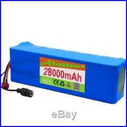 Electric bicycle 48V 28Ah Battery Pack 13S3P MH1 E-bike Scooter with Charger UK