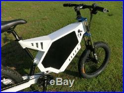 Electric bicycle eBike Stealth Bomber e-Bike 5000W