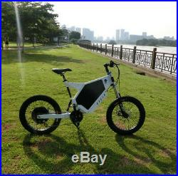 Electric bicycle eBike Stealth Bomber e-Bike 8000W