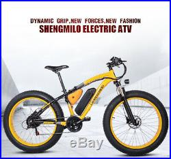 Electric bike ebike 48V1000W electric mountain bike 4.0 fat tire Electric Bike