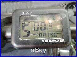 Fat Tire Folding Electric bike Ebike Full Suspension Big Tall Men Sand Snow