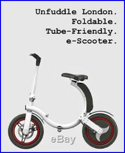 Folding 350W eBike / electric scooter, 32KM range no peddles, just sit and go