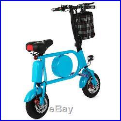 Folding Electric Bicycle 400W E-Bike 10 36v Battery Folding Li-ion 35km/h