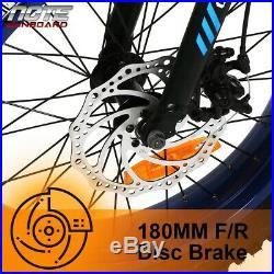 Folding Electric Fat Tire Bike Beach Bicycle City Ebike 20 36V 13AH 500W