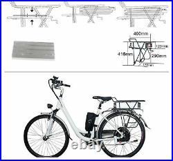 Gepäckträgerakku Universal 36V 25AH, Pedelec e bike e-bike Akku Umbausatz LED