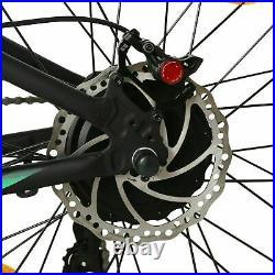 Hammer 48V 1000W Fat Tire Ebike Black Electric Bike Beach Snow Bicycle 7 Speed