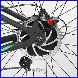 Hammer Electric Fat Bike withUSB Beach Snow Bicycle E-bike 48V 1000W Grey/Blue