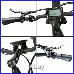 Hammer Fat Tire Electric Bike Beach Snow Bicycle Ebike 48V 1000W Black/Orange