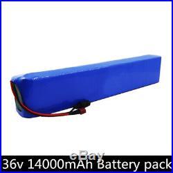 Li-ion Battery 36V 14Ah Rechargeable E-Bike Ebike electric bicycle 42V 500w