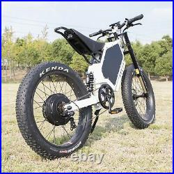 MOST POWERFUL Stealth Bomber Mountain EBike 72V 15000W best bicycle (120km/h!)