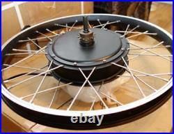 MXUS 5000with72v Electric Bike Ebike Fat Tire or Regular Tire Conversion Kit MOTOR