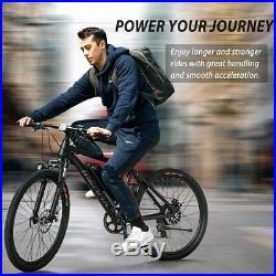 Merax 26''Electric Mountain Bike Bicycle Shimano 36V Lithium Battery 350W E-Bike