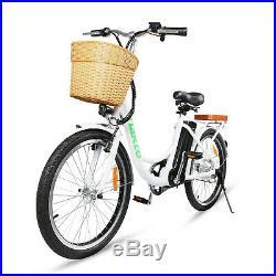 NAKTO 22 City Electric Bike 250W Motor 36V 10Ah Li-Battery E-Bike 16Mph Bicycle