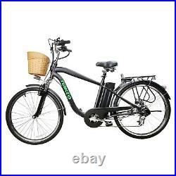 NAKTO 26 Camel Electric Bike 250W Motor City E-Bike 36V10AH Li-Battery 6 Speed