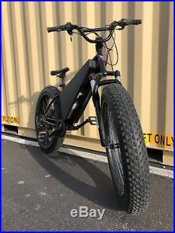NEW Ebike1 RAPTOR 5,000w, 72v 20ah, Electric Fat Bike The BEST quality