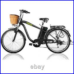 Nakto CAMEL M 26 250W City Electric Bicycle Ebike 36V10A Lithium Battery- Black
