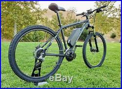 New 33 to 37MPH 1,300W-1,600w Electric Motobecane 29er Mid Drive E-Bike