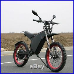 New 72v 8000w Stealth Bomber Style Ebike Mountain Bike Fast 60+Mph