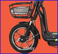 New Electric Bike 48V Battery Capacity 220W Motor Power Twist Throttle E-Bike