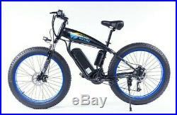 New Electric Mountain Bike 48v 1000w suvs FAT TIRE E-MTB bicycle 26 ebike Adult