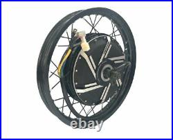 Niubo 18000with72v Electric Bike Ebike Fat Regular Tire Conversion Kit MOTOR ONLY