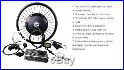 ODBRO 8000W Enduro Ebike Electric Mountain Bicycle Motorcycle 110KM/H 75-200KM