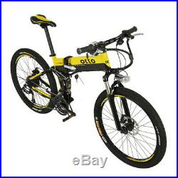 OTTO Electric Mountain Bike Ebike XT700 27 Speed 26 Lithium Battery 36V 8.8Ah