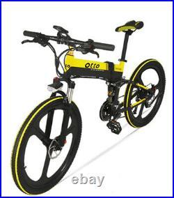OTTO Electric Mountain Bike Ebike XT700 Plus 27 Speed LCD Screen Foldable 48V 10