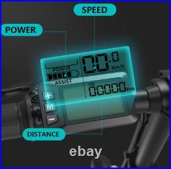 Pro BeginOne Adult Mini Folding Electric Bike E-BIKE 25km/h 36V 12.8AH
