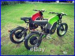 Raging Bull 8,000watts. 84v 24ah Battery QS V1 Motor, 45mph+ Electric Bike Ebike