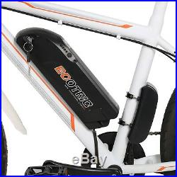 Refurbished 26 350W White Electric Bicycle E-Bike Sport Lithium Battery 7 Speed
