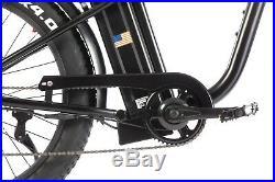SOHOO 48V750W16AH Beach Cruiser Electric Bicycle Fat Tire E-Bike Mountain Bike