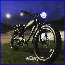 SOLD OUT COOLER KING 500W Custom Made Fat Tyre eBike, 40km range, 40km/h, 48V