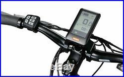 Schwinn Mens 700c Sycamore Electric Bicycle 350-Watt Small Frame E-Bike-Silver
