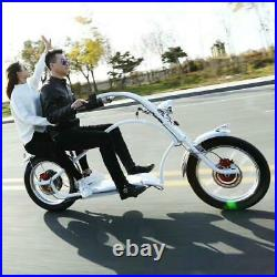 Secutronic 60v/800w Two Seater Electric Chopper Bicycle Ebike Scooter With BAG