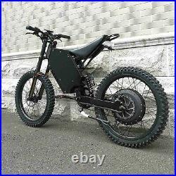 Stealth Bomber Mountain EBike 72v 8000w full suspension 60mph! FAT TIRES