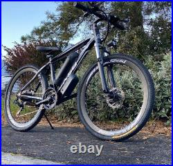 Supreme Electric Assisted Mountain E Bike 26/17inch Frame/36v 2ah wide voltage