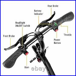 SwagCycle Pro Folding Electric Bike Pedal Free App Enabled 18 mph E Bike with USB