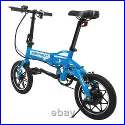 Swagtron EB5 PRO Folding Electric Bike City eBike with Swappable Battery + Pedals